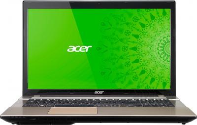 Ноутбук Acer V3-772G-747a161.26TMamm (NX.M9VER.012) - фронтальный вид