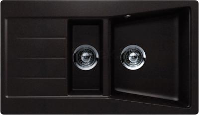 Мойка кухонная Teka Lumina 60 B-TG S (антрацит) - общий вид