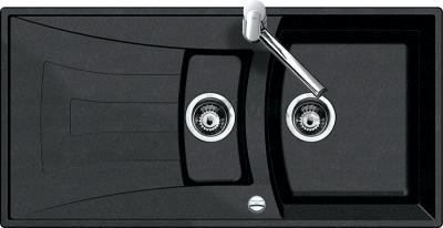 Мойка кухонная Teka Universo 60 B-GT (оникс) - общий вид