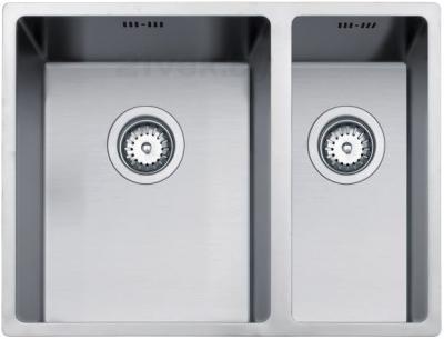 Мойка кухонная Teka Linea 340/400 & 180/400 - фронтальный вид