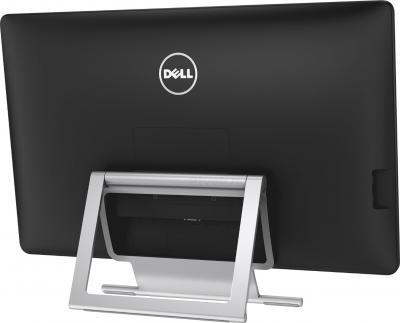 Монитор Dell P2714T (Black) - вид сзвди