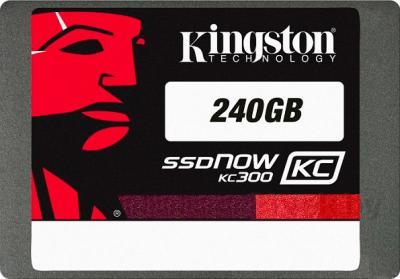 SSD диск Kingston SSDNow KC300 240GB (SKC300S37A/240G) - общий вид