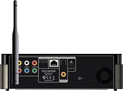 Медиаплеер IconBIT XDS1003DW - вид сзади