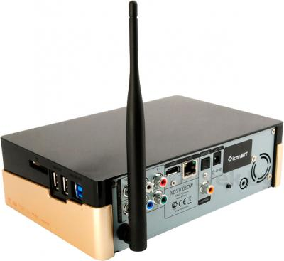 Медиаплеер IconBIT XDS1003DW - вид в проекции