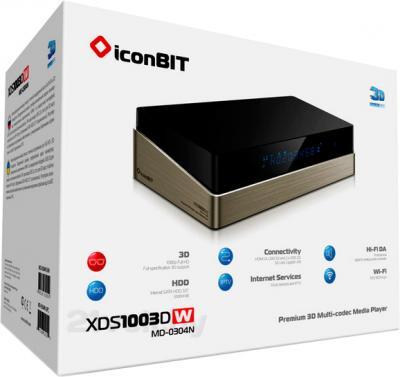 Медиаплеер IconBIT XDS1003DW - упаковка