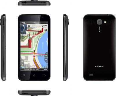 Смартфон TeXet X-navi / TM-4672 (черный) - полный обзор всех панелей