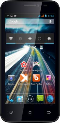 Смартфон TeXet X-navi / TM-4672 (черный) - общий вид