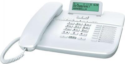 Проводной телефон Gigaset DA710 (White) - общий вид