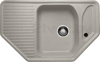 Мойка кухонная Granicom G002-05 (серебристый) - реальный цвет модели может немного отличаться от цвета, представленного на фото