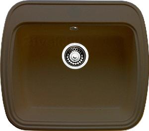 Мойка кухонная Granicom G003-03 (бренди) - реальный цвет модели может немного отличаться от цвета, представленного на фото