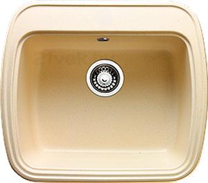 Мойка кухонная Granicom G003-06 (шампань) - реальный цвет модели может немного отличаться от цвета, представленного на фото