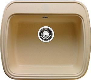 Мойка кухонная Granicom G003-07 (сахара) - реальный цвет модели может немного отличаться от цвета, представленного на фото