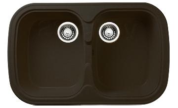 Мойка кухонная Granicom G004-02 (шоколад) - реальный цвет модели может немного отличаться от цвета, представленного на фото