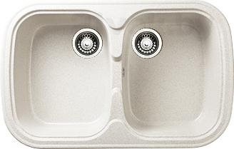 Мойка кухонная Granicom G004-08 (жасмин) - реальный цвет модели может немного отличаться от цвета, представленного на фото