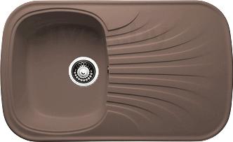 Мойка кухонная Granicom G005-03 (бренди) - реальный цвет модели может немного отличаться от цвета, представленного на фото