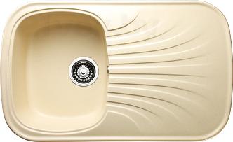 Мойка кухонная Granicom G005-06 (шампань) - реальный цвет модели может немного отличаться от цвета, представленного на фото