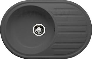 Мойка кухонная Granicom G006-04 (серый) - реальный цвет модели может немного отличаться от цвета, представленного на фото