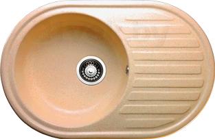 Мойка кухонная Granicom G006-07 (сахара) - реальный цвет модели может немного отличаться от цвета, представленного на фото