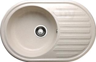 Мойка кухонная Granicom G006-08 (жасмин) - реальный цвет модели может немного отличаться от цвета, представленного на фото