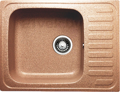 Мойка кухонная Granicom G007-03 (бренди) - реальный цвет модели может немного отличаться от цвета, представленного на фото