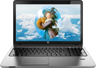 Ноутбук HP Probook 450 G0 (A6G64EA) - фронтальный вид