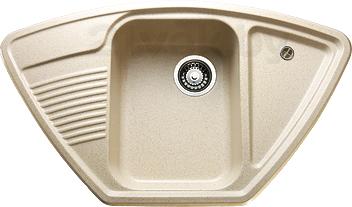 Мойка кухонная Granicom G008-06 (шампань) - реальный цвет модели может немного отличаться от цвета, представленного на фото