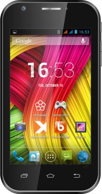 Смартфон TeXet X-start / TM-4172 (черный) - общий вид