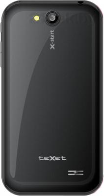 Смартфон TeXet X-start / TM-4172 (черный) - задняя панель