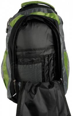 Рюкзак Outhorn Tero COL11-PCU129 (Green) - внешний карман с органайзером