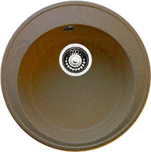 Мойка кухонная Granicom G009-03 (бренди) - реальный цвет модели может отличаться от цвета, представленного на фото