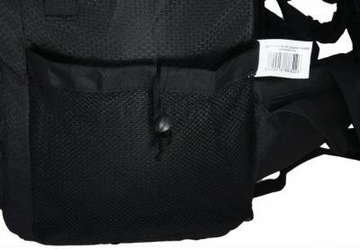 Рюкзак туристический 4F Katmandu-40 C4L12-PCG001A (Black) - боковой карман