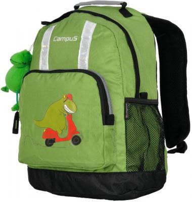 Школьный рюкзак Campus Momo-15 (Green) - общий вид