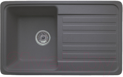 Мойка кухонная Granicom G010-04 (серый)