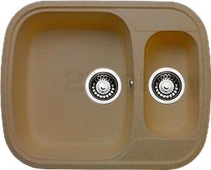 Мойка кухонная Granicom G011-03 (бренди) - реальный цвет модели может отличаться от цвета, представленного на фото