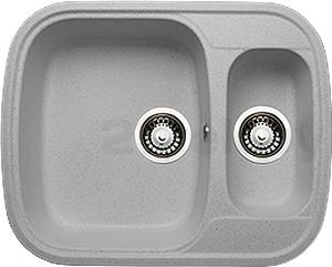 Мойка кухонная Granicom G011-05 (серебристый) - реальный цвет модели может немного отличаться от цвета, представленного на фото