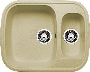 Мойка кухонная Granicom G011-07 (сахара) - реальный цвет модели может немного отличаться от цвета, представленного на фото