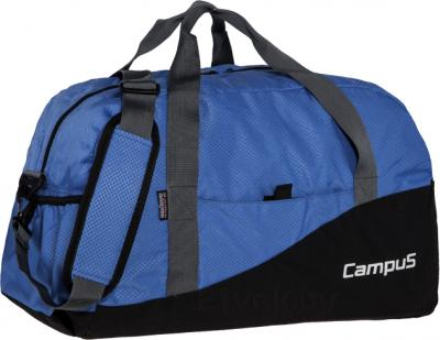 Спортивная сумка Campus Fit-50 (Black-Blue) - общий вид