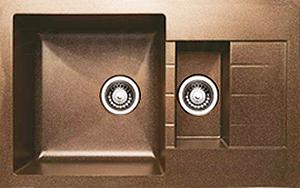 Мойка кухонная Granicom G012-03 (бренди) - реальный цвет модели может отличаться от цвета, представленного на фото