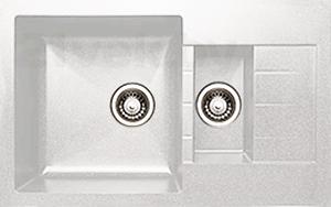 Мойка кухонная Granicom G012-08 (жасмин) - реальный цвет модели может немного отличаться от цвета, представленного на фото