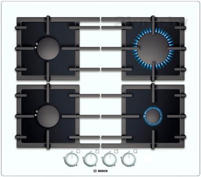Газовая варочная панель Bosch PPP612B91R - общий вид