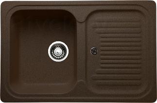 Мойка кухонная Granicom G013-02 (шоколад) - реальный цвет модели может немного отличаться от цвета, представленного на фото