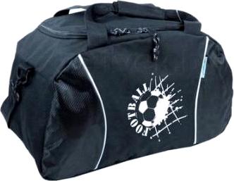 Спортивная сумка Paso 49-886 (Black) - общий вид