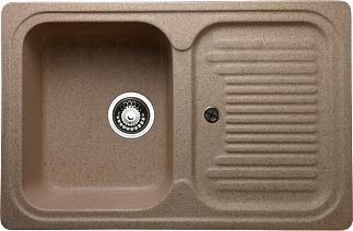 Мойка кухонная Granicom G013-03 (бренди) - реальный цвет модели может немного отличаться от цвета, представленного на фото