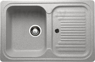 Мойка кухонная Granicom G013-05 (серебристый) - реальный цвет модели может немного отличаться от цвета, представленного на фото