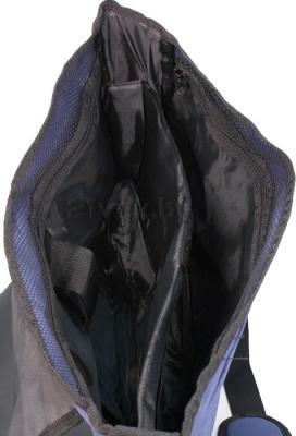 Сумка для ноутбука Paso 61-518 (Black) - внутри