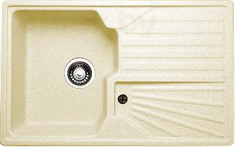 Мойка кухонная Granicom G014-06 (шампань) - реальный цвет модели может немного отличаться от цвета, представленного на фото