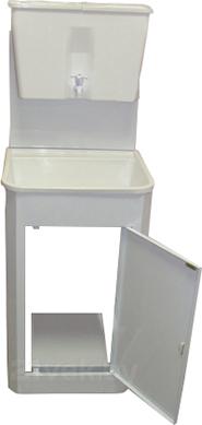 Умывальник для дачи ЭлБЭТ Чистюля УМ-17 (металл) - общий вид