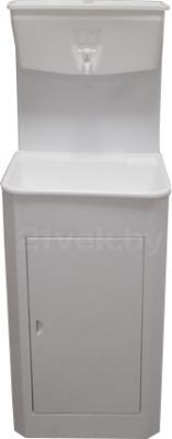 Умывальник для дачи ЭлБЭТ Чистюля УМ-10 (металл) - общий вид