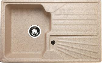 Мойка кухонная Granicom G014-07 (сахара) - реальный цвет модели может немного отличаться от цвета, представленного на фото