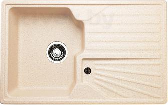 Мойка кухонная Granicom G014-09 (персик) - реальный цвет модели может немного отличаться от цвета, представленного на фото